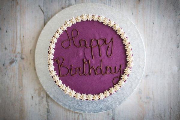 Classic Cake Blueberry